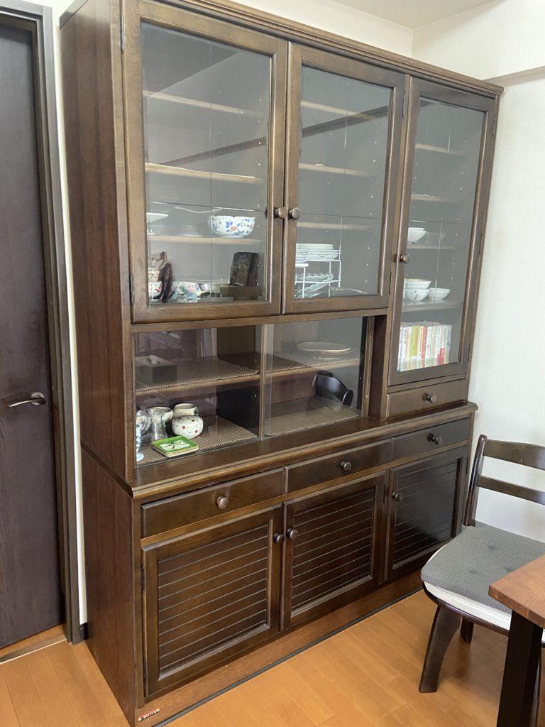 食器戸棚の写真